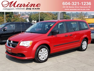 2013 Dodge Grand Caravan Canadian Value Package Van 55K9170B