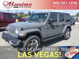 2019 Jeep Wrangler Unlimited Sahara SUV 1C4HJXEGXKW548831