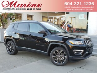 2021 Jeep Compass 80th Anniversary Edition 4x4 3C4NJDBB3MT528150
