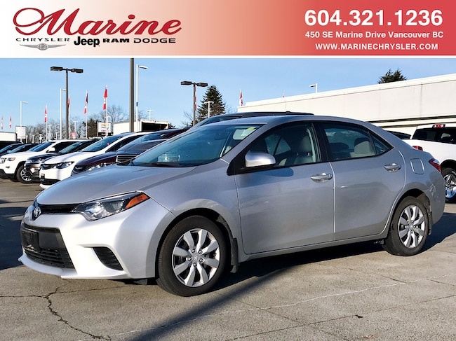2014 TOYOTA COROLLA LE - Auto, No Damage Reports Sedan