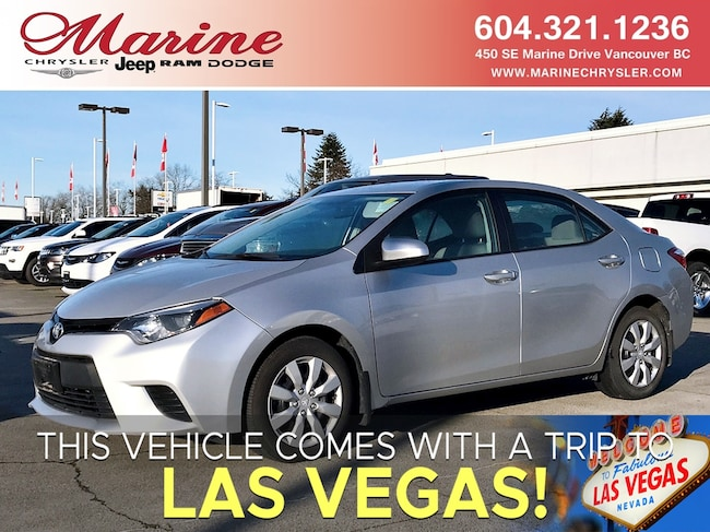 2014 Toyota Corolla For Sale >> Used 2014 Toyota Corolla For Sale At Alfa Romeo Of Vancouver Vin