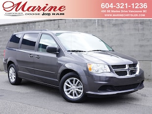 2017 Dodge Grand Caravan CVP/SXT Ultimate Family DVD, only 9,000 km Van 42K8485A