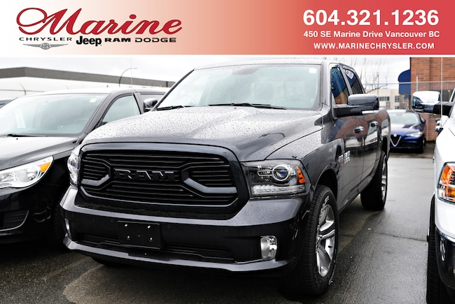 New 2018 Ram 1500 Sport Truck Crew Cab For Sale/Lease Vancouver, BC