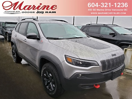 Featured new 2020 Jeep Cherokee Trailhawk SUV for sale in Vancouver, BC