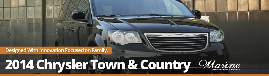 2014 Chrysler Town and Country Vancouver