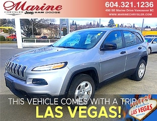 2015 Jeep Cherokee Sport 4X4 with only 18,700kms SUV 68H4192A