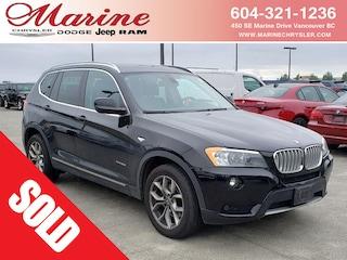 Bargain Used 2014 BMW X3 xDrive28i SAV 68K3789A for Sale in Vancouver BC