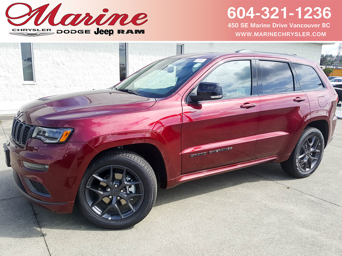 Featured new 2019 Jeep Grand Cherokee Limited X SUV for sale in Vancouver, BC