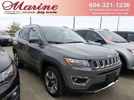 Featured new 2019 Jeep Compass Limited SUV for sale in Vancouver, BC