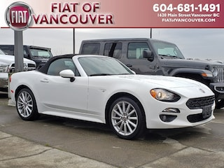 2017 FIAT 124 Spider 6 speed manual Lusso Convertible BL7910