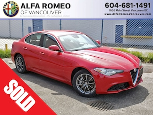 2018 Alfa Romeo Giulia All Wheel Drive, Only 135 km, Like New! Sedan BA7891