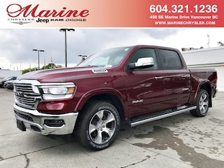 New 2019 Ram 1500 Laramie Truck Crew Cab 55K2432 for sale in Vancouver, BC