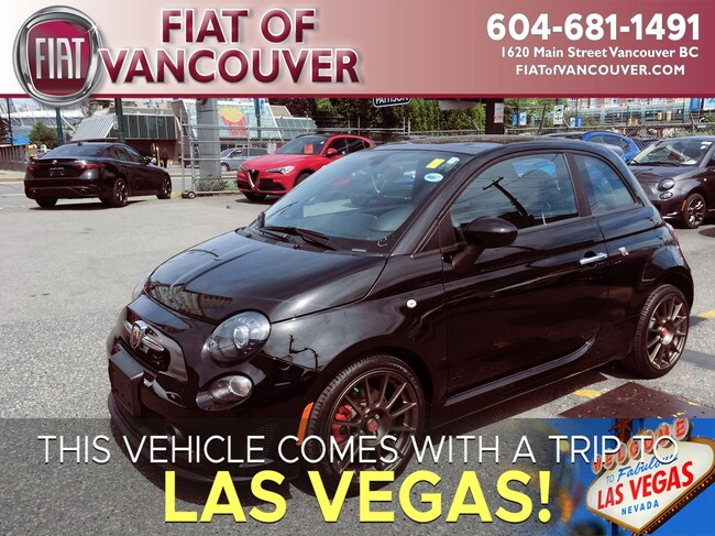 2016 Fiat 500 Abarth >> Used 2016 Fiat 500 Abarth For Sale At Alfa Romeo Of Vancouver Vin