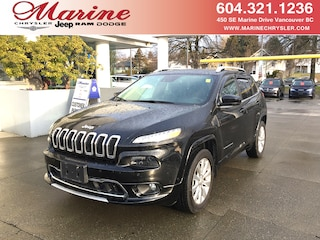 Used Vehicles for sale 2017 Jeep Cherokee Overland SUV BA7826 in Vancouver, BC
