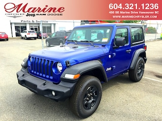 New 2019 Jeep All-New Wrangler Sport SUV 67K8503 for sale in Vancouver, BC