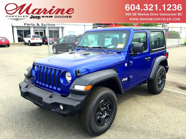 New 2019 Jeep All-New Wrangler Sport SUV For Sale/Lease Vancouver, BC
