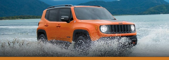 Orange 2015 Jeep Renegade for sale in Vancouver, BC