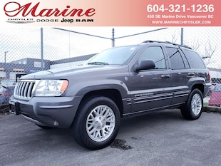 2004 Jeep Grand Cherokee Limited 4.7L With Only 93,000 km SUV 65K5999A