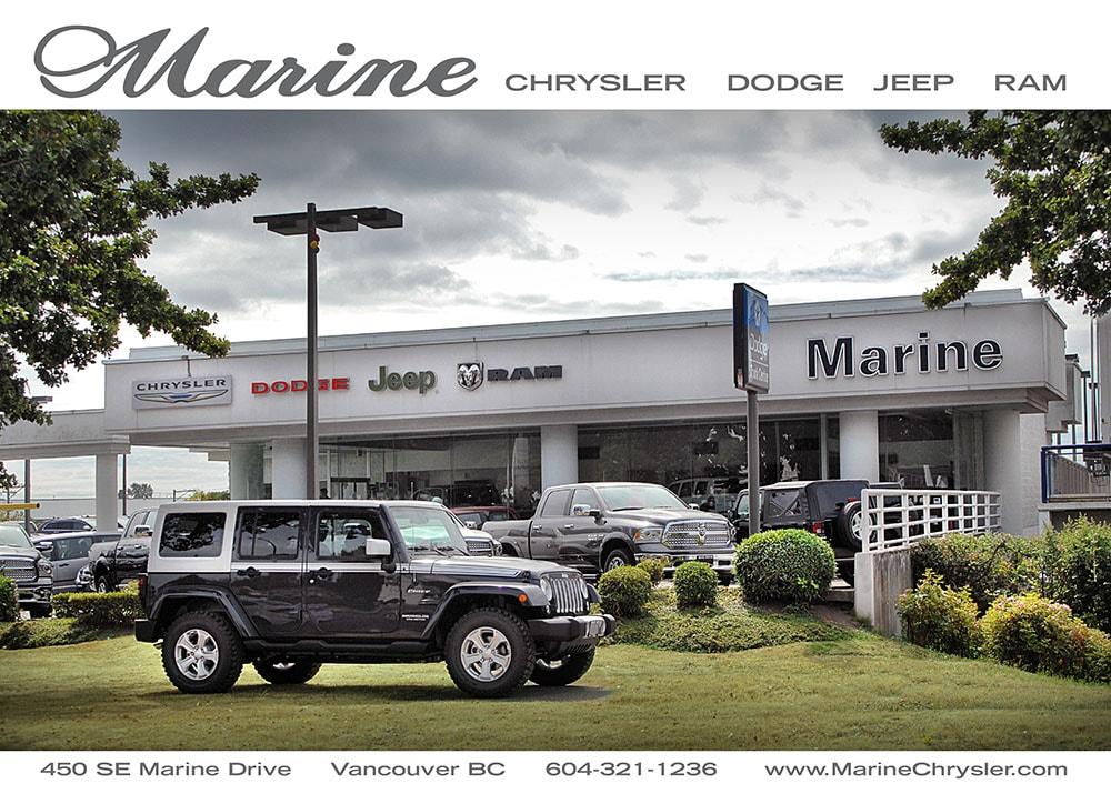 Marine Chrysler Dodge Jeep Ram In Vancouver Bc