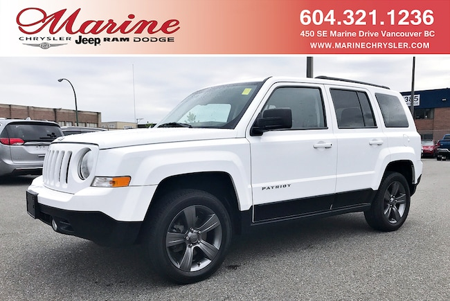 Used 2015 Jeep Patriot High Altitude 4X4 SUV For Sale Vancouver, BC