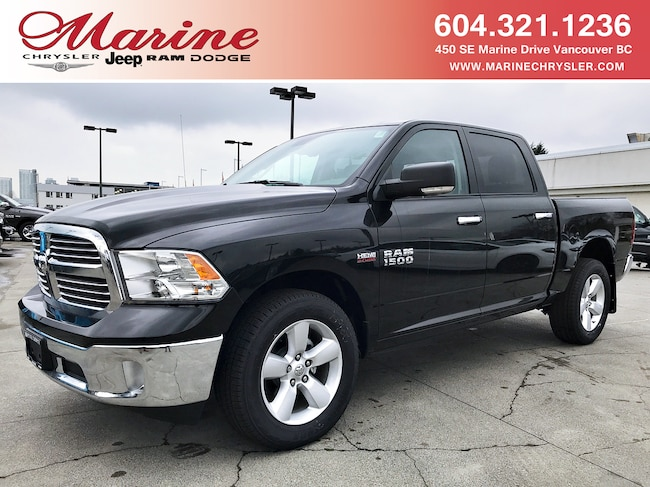 New 2018 Ram 1500 SLT Truck Crew Cab For Sale/Lease Vancouver, BC