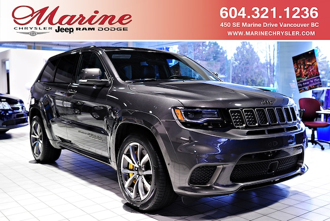New 2018 Jeep Grand Cherokee Trackhawk SUV For Sale/Lease Vancouver, BC