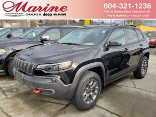 2020 Jeep Cherokee Trailhawk Elite SUV 1C4PJMBX2LD557308