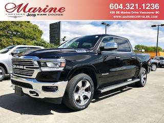New 2019 Ram 1500 Laramie Truck Crew Cab 55K4682 for sale in Vancouver, BC