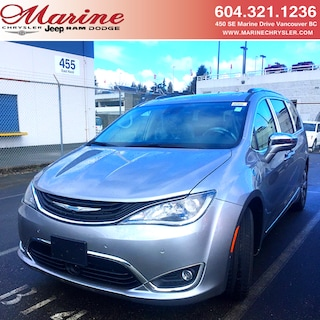 New 2019 Chrysler Pacifica Hybrid Limited Van 70K4718 for sale in Vancouver, BC