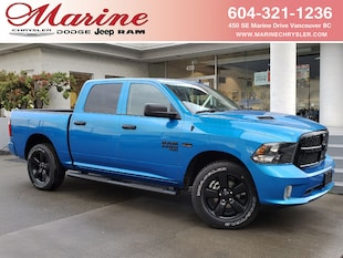 2021 Ram 1500 Classic Night Edition 4x4 Crew Cab 5.6 ft. box 140 in. WB 3C6RR7KT9MG526830