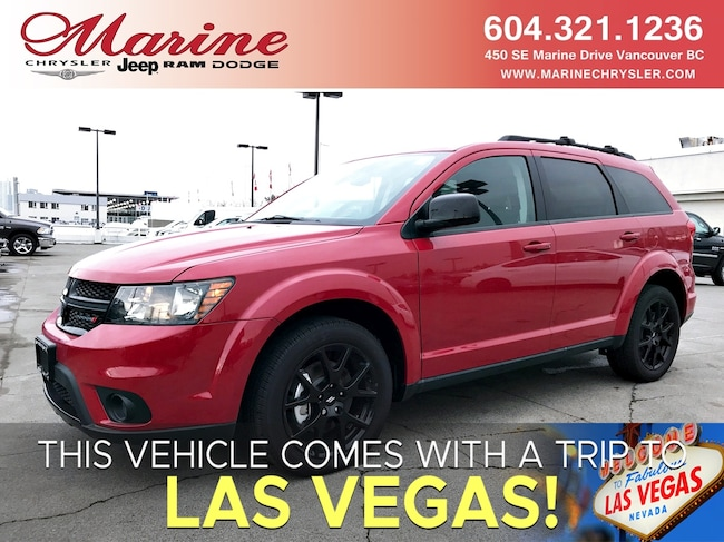 New 2018 Dodge Journey SXT AWD 3-row SUV SUV For Sale/Lease Vancouver, BC