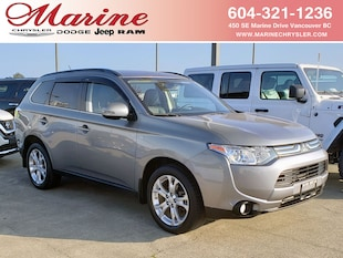 2014 Mitsubishi Outlander GT, Leather, Sunroof, AWD, Only 62,000 km! SUV 68M7540A