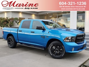 2021 Ram 1500 Classic Night Edition 4x4 Crew Cab 5.6 ft. box 140 in. WB 3C6RR7KT1MG526837