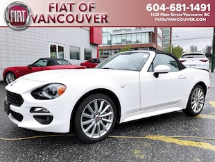 2017 FIAT 124 Spider Lusso Convertible JC1NFAEK9H0130744