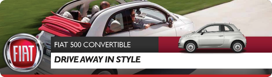 FIAT 500 Convertible for Sale in Vancouver, BC | FIAT of Vancouver