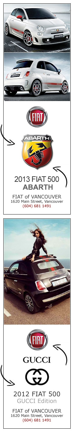 FIAT of Vancouver is the #1 FIAT Dealer in Canada