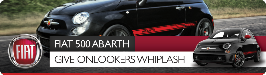 Order the all new fiat abarth, fiat lounge or fiat sport only from