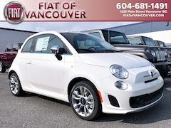 2018 FIAT 500c Lounge Convertible 3C3CFFEHXJT471935 For sale in Vancouver, near Burnaby