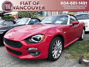 2018 FIAT 124 Spider Lusso Convertible JC1NFAEK1J0133725