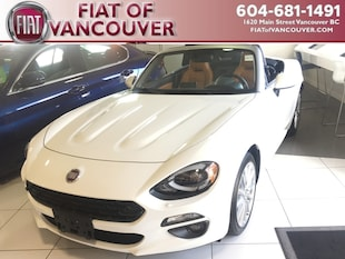 2018 FIAT 124 Spider Lusso Convertible JC1NFAEK0J0140407