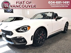 2018 FIAT 124 Spider Abarth Convertible JC1NFAEK0J0133733 For sale in Vancouver, near Burnaby