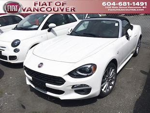 2018 FIAT 124 Spider Lusso Convertible JC1NFAEK7J0140520