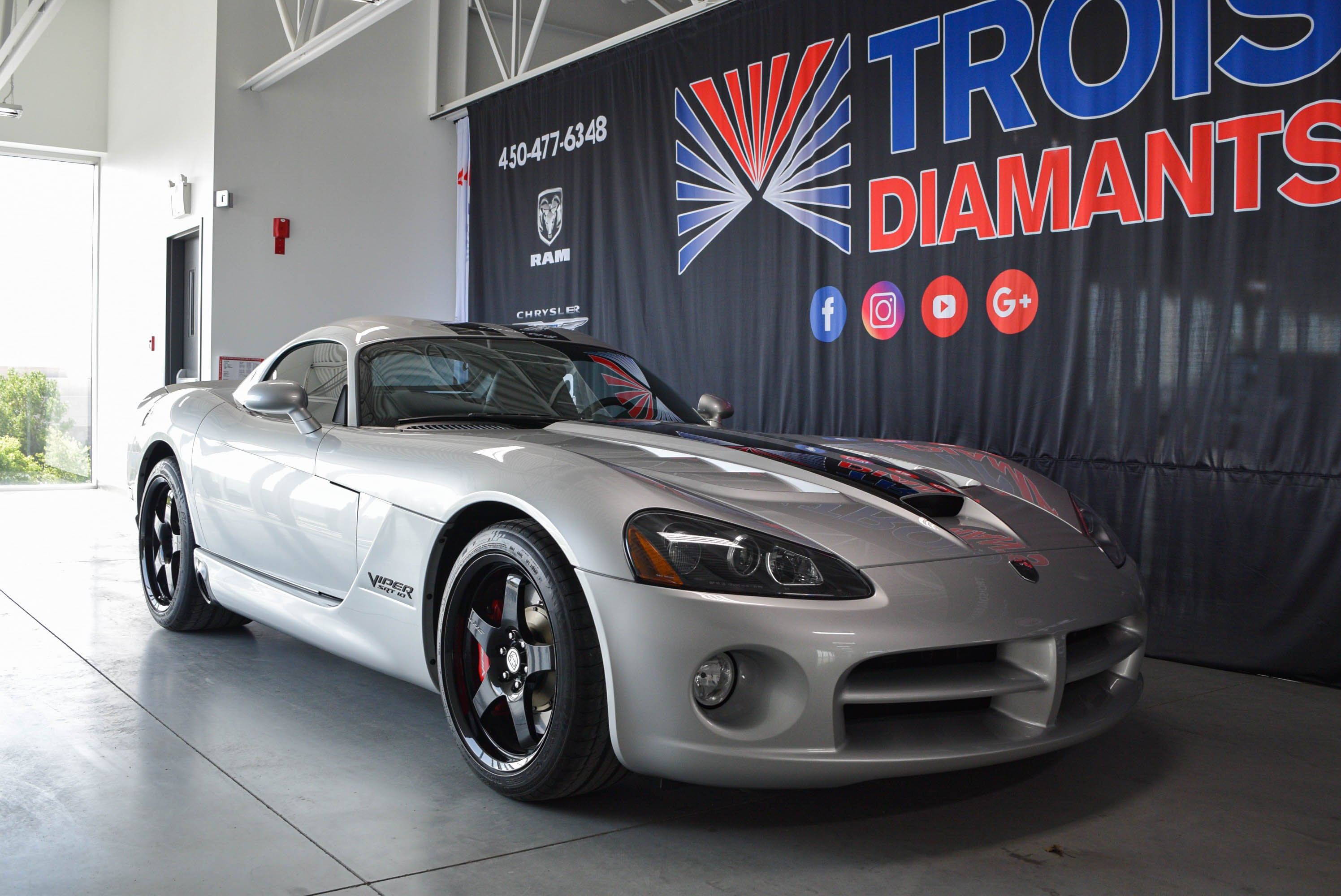 2009 Dodge Viper SRT10*EDITION SPECIAL 23/100*VOI10*NAV* Coupé