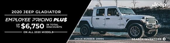 2020 Jeep Gladiator  Employee Pricing Plus