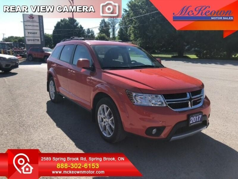 2017 Dodge Journey SXT - Navigation - $202 B/W VUS