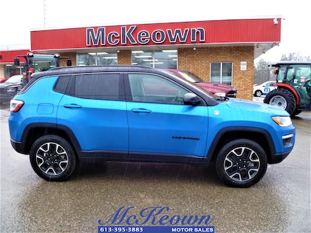 2021 Jeep Compass Trailhawk Elite Dual-Pane Sunroof Remote Start Tra 4x4
