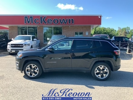 2019 Jeep Compass Limited. Nav. Blind Spot Detection. Adaptive Cruis SUV