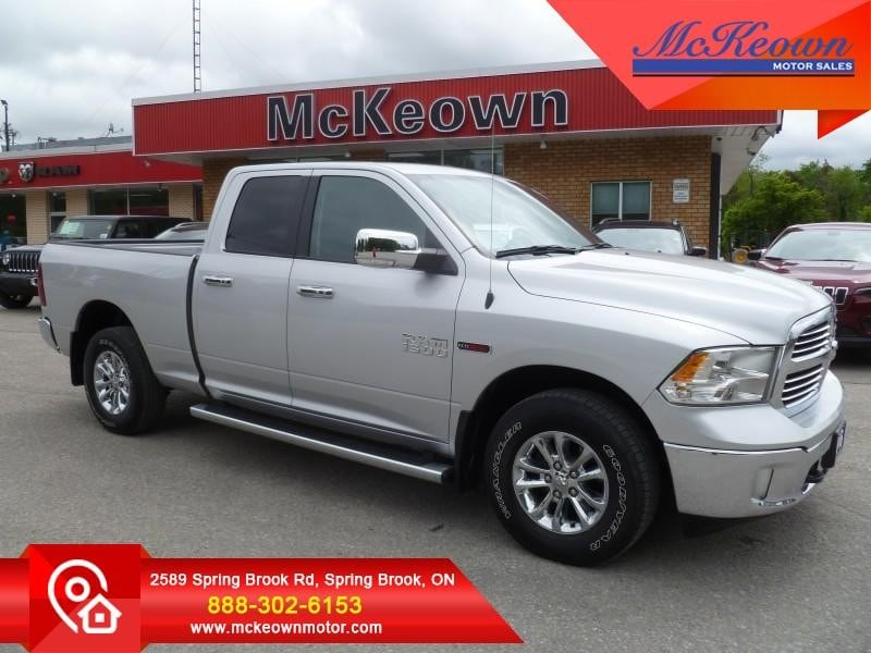 2016 Ram 1500 Big Horn - One Owner - Diesel Engine - $216 B/W Cabine Quad