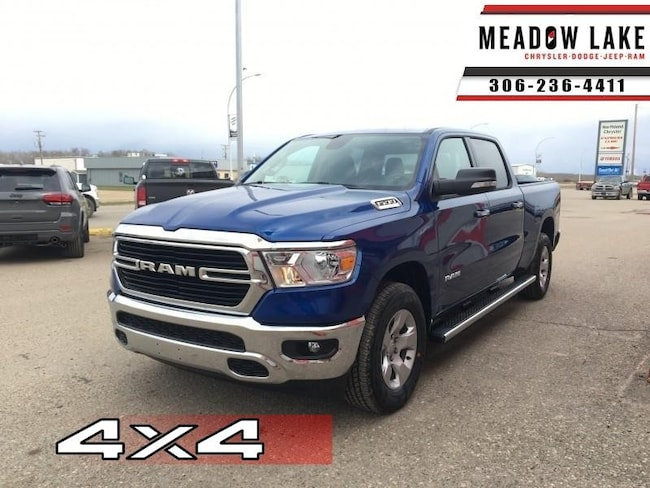 2019 Ram 1500 Big Horn - Remote Start - Side Steps - $266.50 B/W Crew Cab