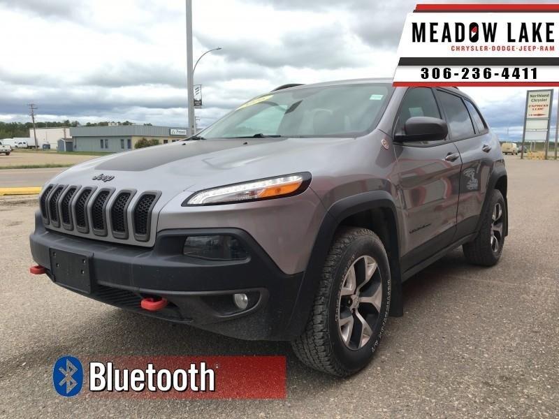 2016 Jeep Cherokee Trailhawk - Bluetooth - $168 B/W SUV